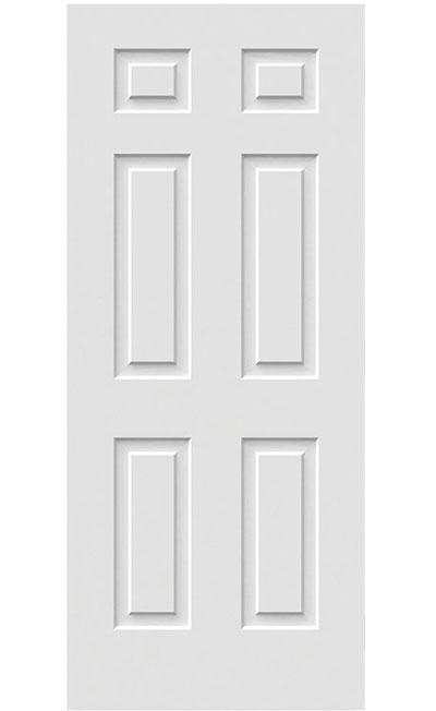 Porte de service à 6 embossés